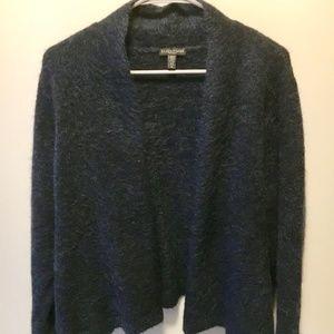 Eileen Fisher Mélange Knit Crop Cardigan 1X